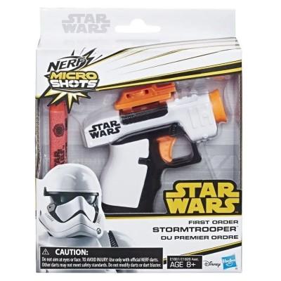 Dětská pistole Nerf Microshot Star Wars Stormtrooper