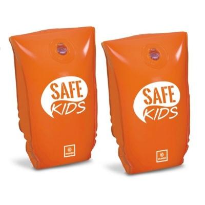 Nafukovací rukávky Safe Kids oranžové 30x15cm