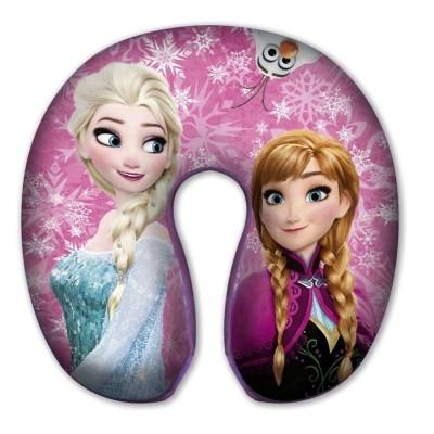 Záhlavník polštářek do auta Frozen Ledové království