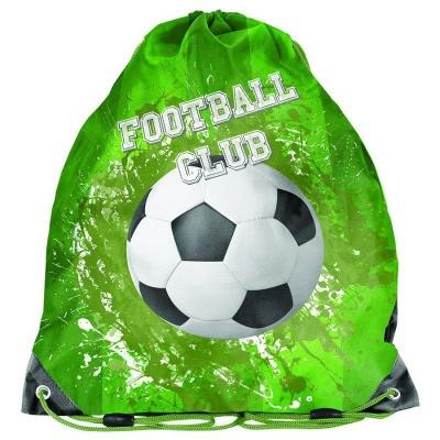 Školní pytel vak sáček Fotbal zelený
