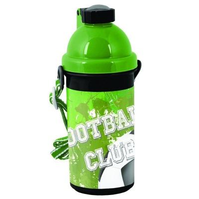 Plastová láhev 500ml Fotbal zelený