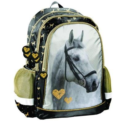 Školní batoh brašna Kůň Srdce