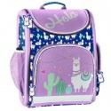 Luxusní školní batoh aktovka i pro prvňáčky Lama Hola