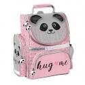 Školní batoh aktovka i pro prvňáčky Panda s plyšovýma ušima