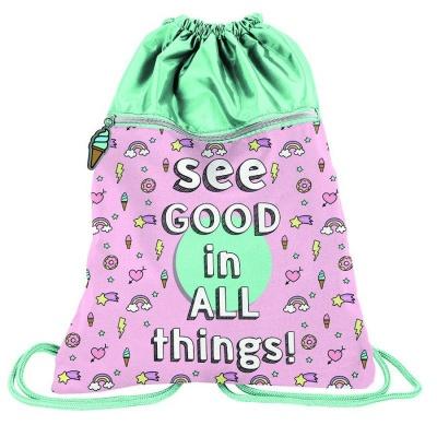 Batoh pytel vak s přední kapsou Good Things