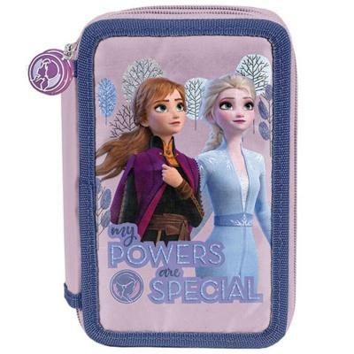 Školní třípatrové pouzdro penál Frozen 2 Ledové království
