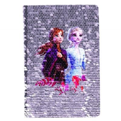 Notes diář A5 s flitry Frozen 2 Ledové království