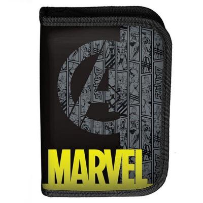 Školní pouzdro penál Avengers Marvel - s chlopněmi a vybavením