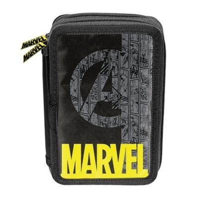 Školní dvoupatrové pouzdro penál Avengers Marvel