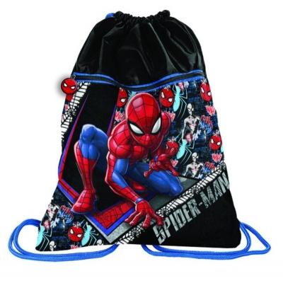 Batoh pytel vak s přední kapsou Spiderman