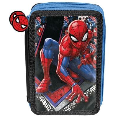 Školní dvoupatrové pouzdro penál Spiderman