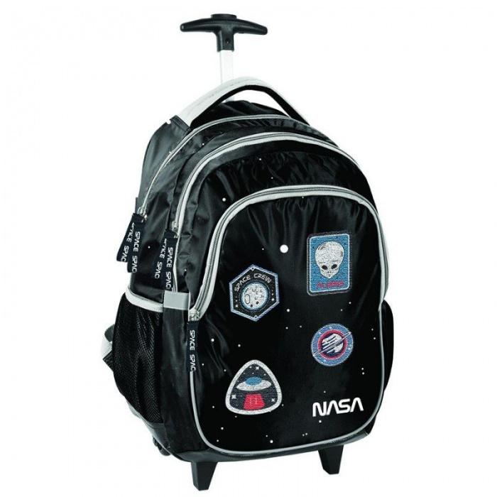 Cestovní batoh na kolečkách s vysouvací rukojetí NASA