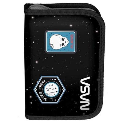 Školní pouzdro penál NASA - s chlopněmi a vybavením