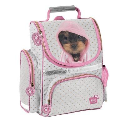 Školní batoh aktovka i pro prvňáčky Pes v mikině
