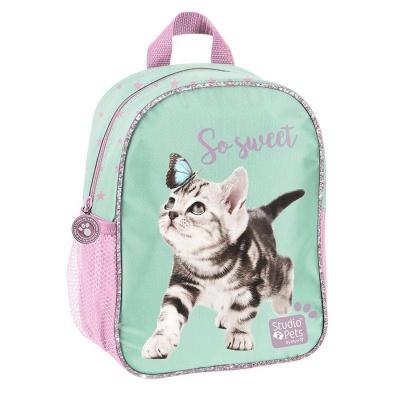 Dětský batoh malý Kočka s motýlem