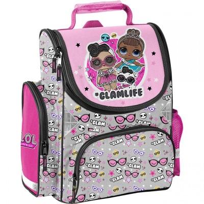 Školní batoh aktovka Panenky LOL GLAM růžová i pro prvňáčky
