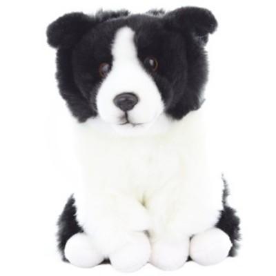 Plyšový pes border kolie
