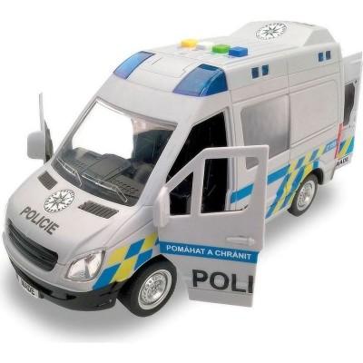 Policejní dodávka se zvuky a světly