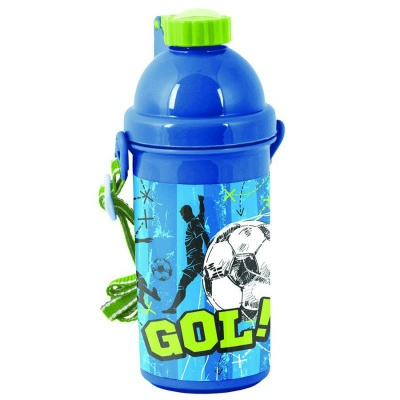 Plastová láhev 500ml Fotbal