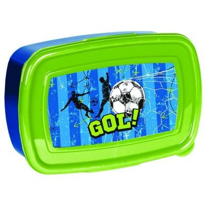 Svačinový box krabička na oběd Fotbal