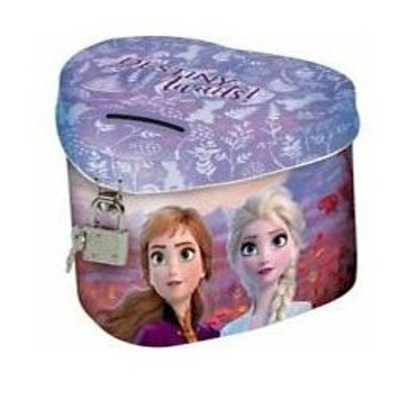 Kovová pokladnička kasička srdce Frozen 2 Ledové království