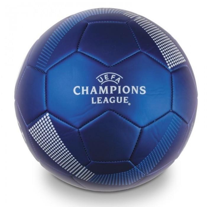 Fotbalový míč šitý UEFA Champions League modrý