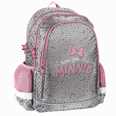 Školní batoh brašna Minnie Mouse Bow růžový