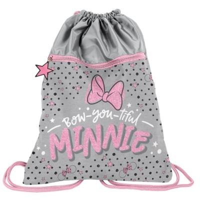 Batoh pytel vak s přední kapsou Minnie Mouse Bow