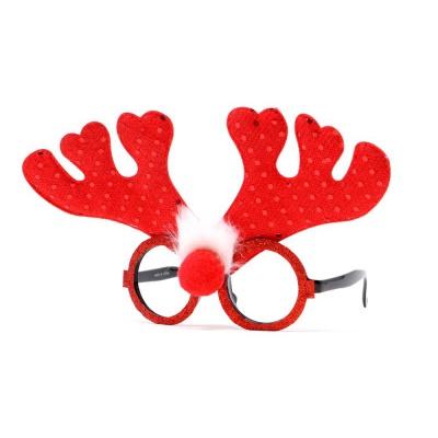 Vánoční brýle s parohy sob