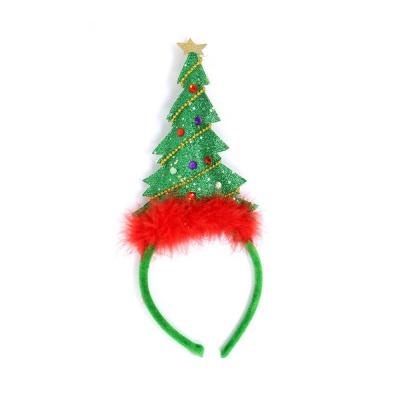 Vánoční čelenka stromeček