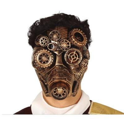 Velká plynová maska Steampunk
