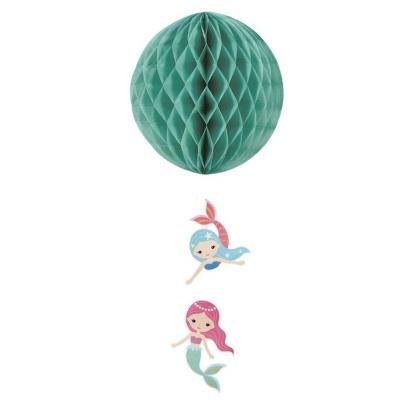 Závěsná dekorace Mořská panna 55 cm