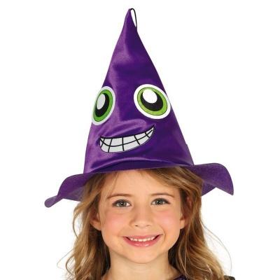 Fialový klobouk čarodějnice