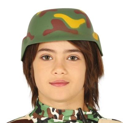 Vojenská helma maskáč - dětská