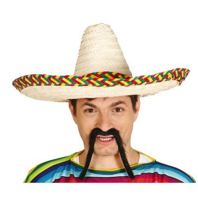 Mexické sombrero barevné 50cm