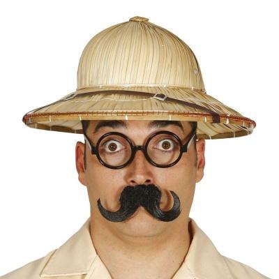 Bambusový klobouk cestovatel