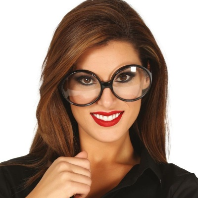 Kulaté maxi brýle