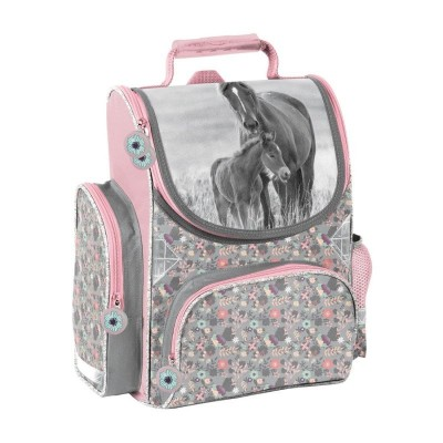 Školní batoh aktovka Kůň a hříbě i pro prvňáčky