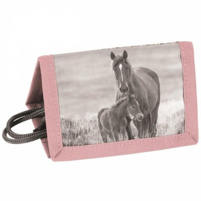 Textilní peněženka Kůň a hříbě