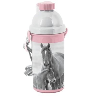 Plastová láhev 500ml Kůň a hříbe