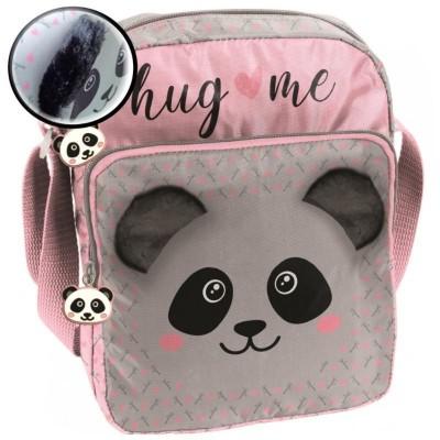 Kabelka taška na rameno Panda s plyšovýma ušima