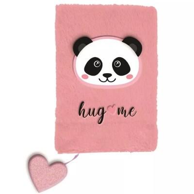 Plyšový notes A5 Panda