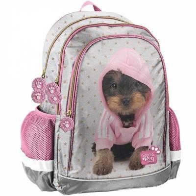 Školní batoh brašna Pes v mikině