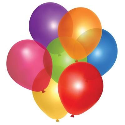 Balónky barevné mix - 40ks