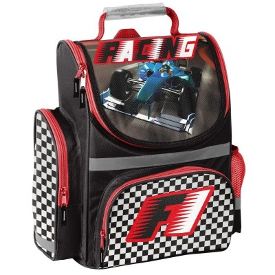Školní batoh aktovka i pro prvňáčky Formule 1