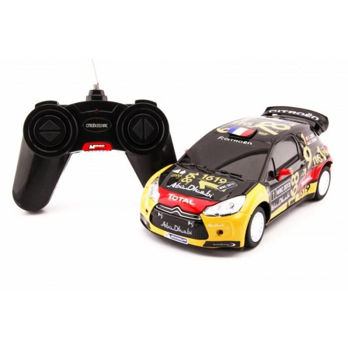 RC model Citroen DS3 WRC 2013 auto na dálkové ovládání 1:24