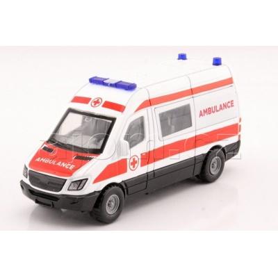 Kovový model minibus Ambulance Mondo Motors 1:43