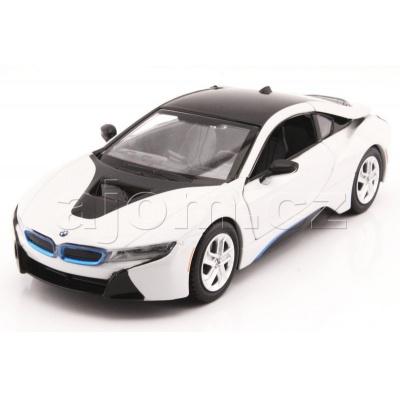 Kovový model auta 2018 BMW i8 Coupe MotorMax 1:24