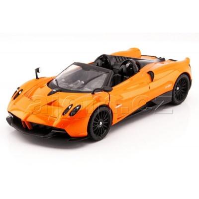 Kovový model auta Pagani Huayra Roadster MotorMax 1:24