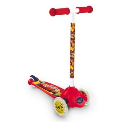 Dětská koloběžka Twist & Roll Cars 3 Auta